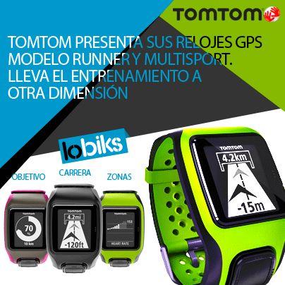 Ya tenemos disponibles los #relojesGPS deportivos de #TomTom.  http://lobiks.com/65_tomtom