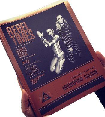 Rebel Times 2 - Business Unusual , ArtRebels Store