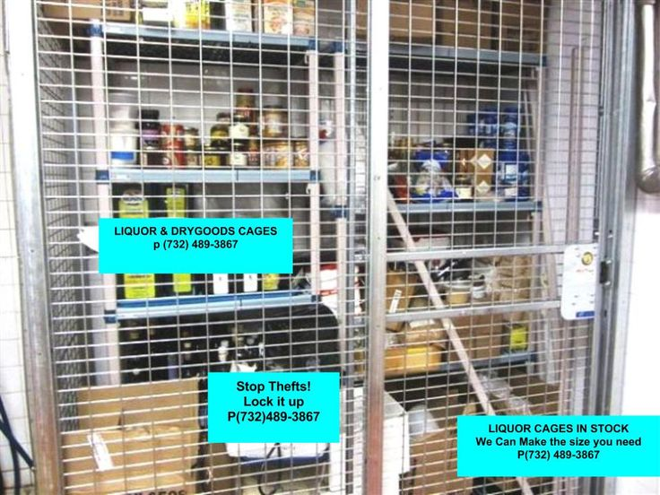 Liquor Cages NYC, Liquor and Inventory Cages prevent thefts. Keep you inventory secure. Equiptall in NYC provides free on-site layouts, Quick Delivery. Equiptall of NYC P(917)837-0032  Liquor Cages NYC, Brooklyn, Queens NY, Bronx, Staten Island and NJ
