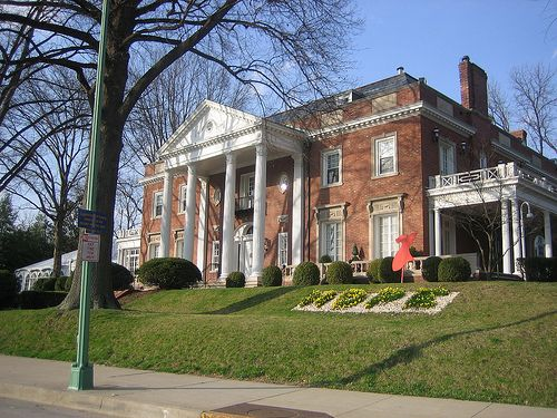 West Virginia Governors Mansion ~ Remember singing there many times Allison?