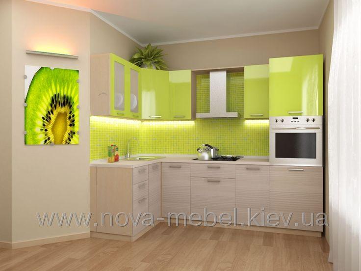 Кухня Киви 140x260 Кухни на заказ