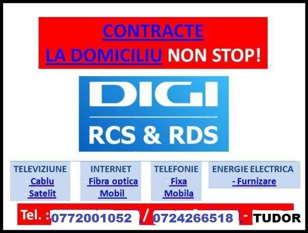 Agent digi ofer abonamente rcs&rds la domiciliul clientului