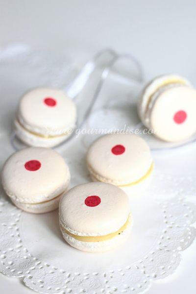 Macarons au yuzu et au gingembre - www.Puregourmandise.com
