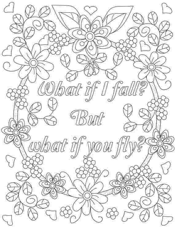Motivational Quotes Coloring Pages In 2020 Quote Coloring Pages