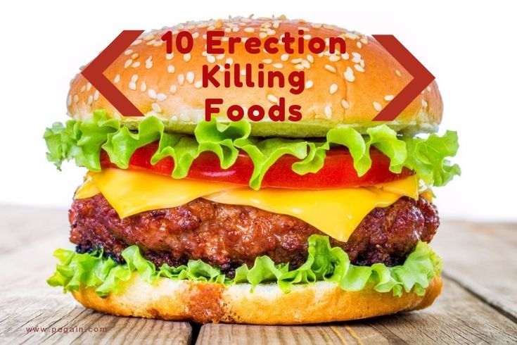 10 Erection Killing Foods