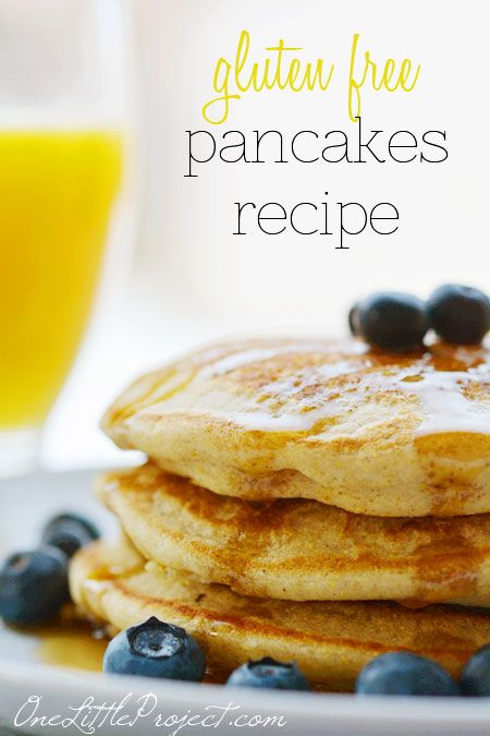 Gluten Free Pancakes - a recipe that is actually delicious!