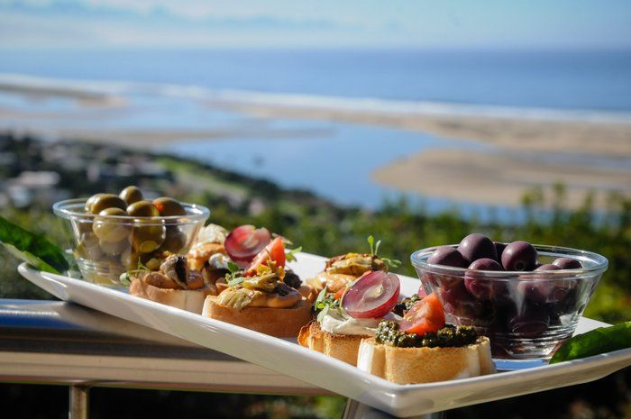 Delicious tapas with a view at La Vista Lodge, Plettenbergbay #southafrica