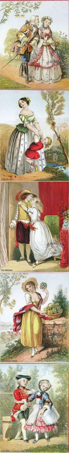 Коллекция картинок: Baxter Prints by Kronheim 1850