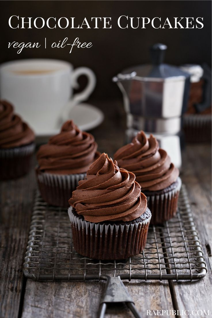 Chocolate #vegan cupcakes that are super easy to make, paired with chocolate fudge frosting! I created this plant-based dessert recipe for my nephews birthday so they are child approved too! Perfect for birthdays, holidays or Mondays. Hope you enjoy!