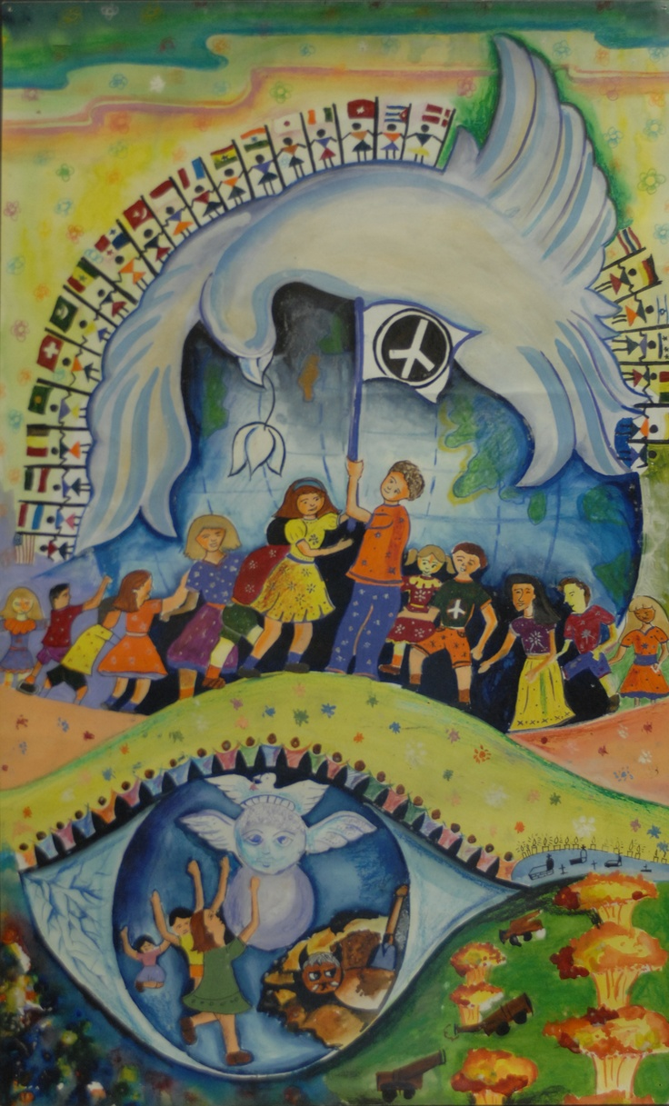 Finalist from India: Lions Clubs International 2012-2013 Peace Poster Contest