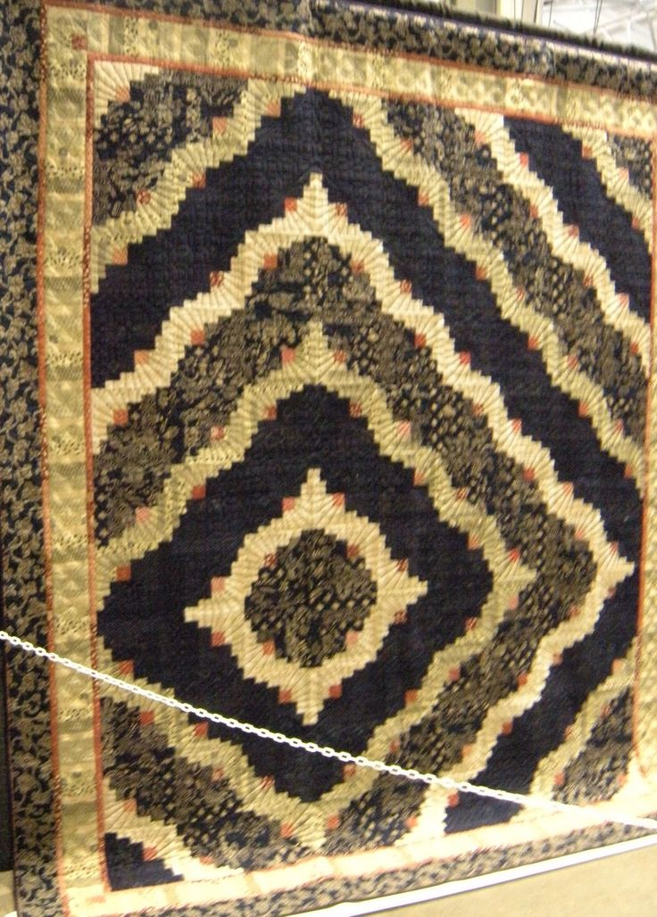 19 Best Images About Curved Log Cabin Quilt On Pinterest