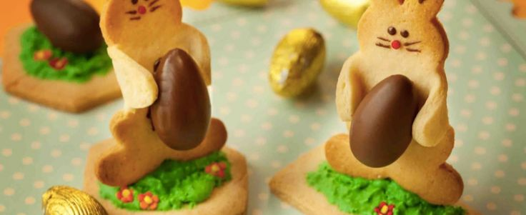 Coelho de biscoito para a Páscoa