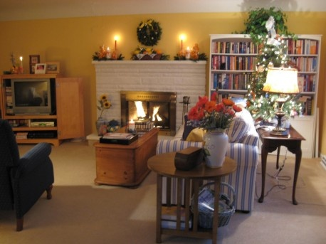 The best simple Christmas living room