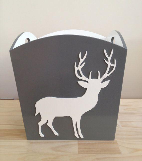 Deer Toy Bin