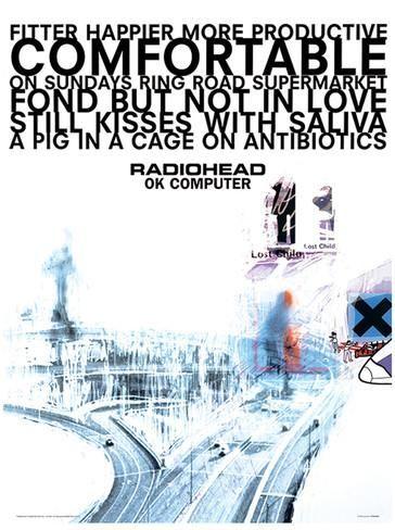 Radiohead - Ok Computer Music Poster Masterprint - AllPosters.co.uk