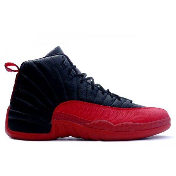 official photos 4d36e 2d9ba ... Nike Air Jordan 12 (XII)  Flu Game Black  Varsity-Red