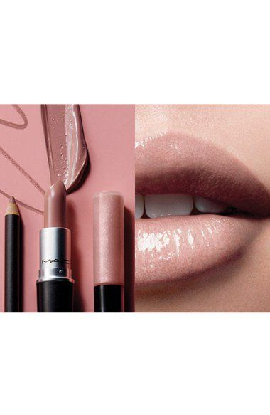 Lipstick in limited-edition Pretty Natural (midtone warm nude) (0.1 oz.)  - Lipglass in limited-edition Feeling Fine (soft beigey pink with pearl) (0.16 oz.)  - Lip Pencil in Subculture (underground pink) (0.05 oz.)