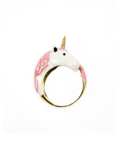 Pink Unicorn Ring by Modernaked