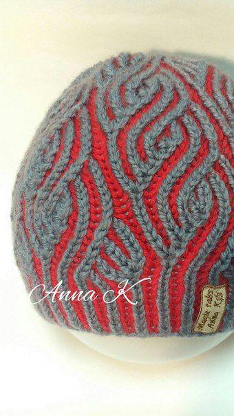 Inspiration Очень теплая и эффектная шапочка в технике бриошь. Вы не останетесь не заметной!!!... фото #2
