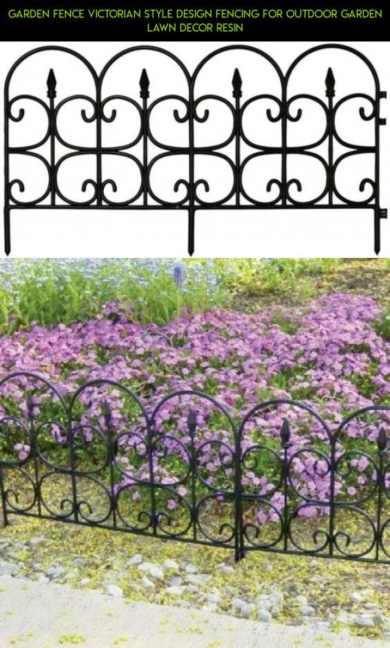 Garden Fence Victorian Style Design Fencing for Outdoor Garden Lawn Decor Resin #racing #tech #outdoor #plans #products #fpv #for #drone #kit #decor #shopping #fence #gadgets #camera #technology #parts