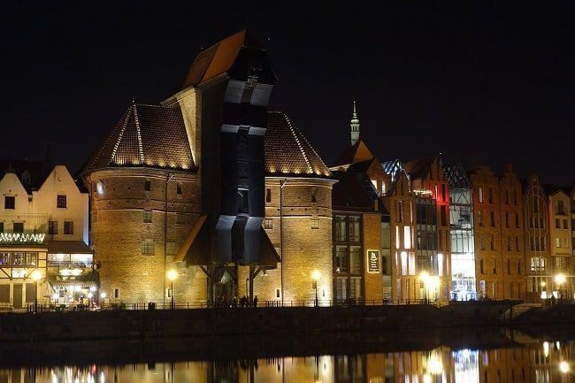 Gdansk by night Poland