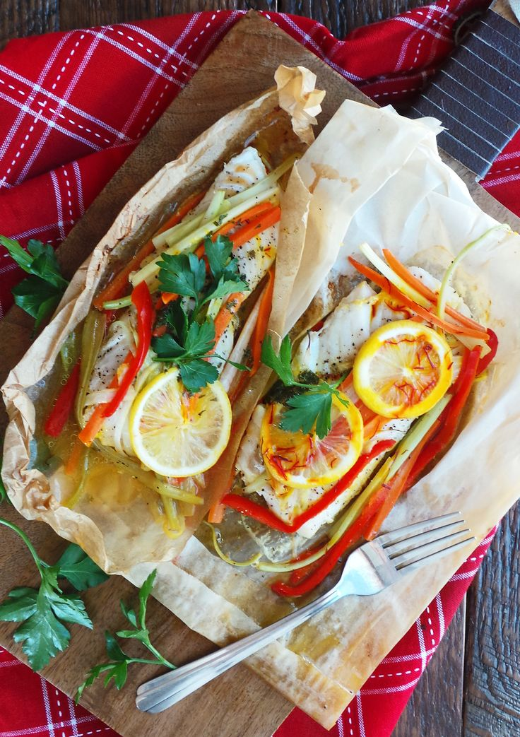 Fish en Papillote... my favorite 10 minute preparation for any fish!