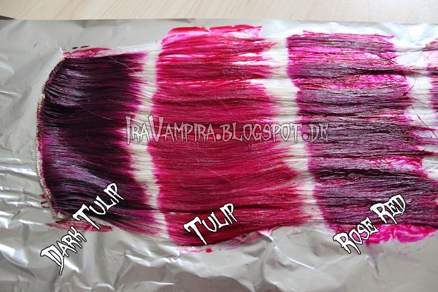 Tulip!?! Ira Vampira`s Blog: Directions REZEPTURÄNDERUNG - Infos zu den Farben - auf unblondiertem Haar, Haltbarkeit, Auswaschen