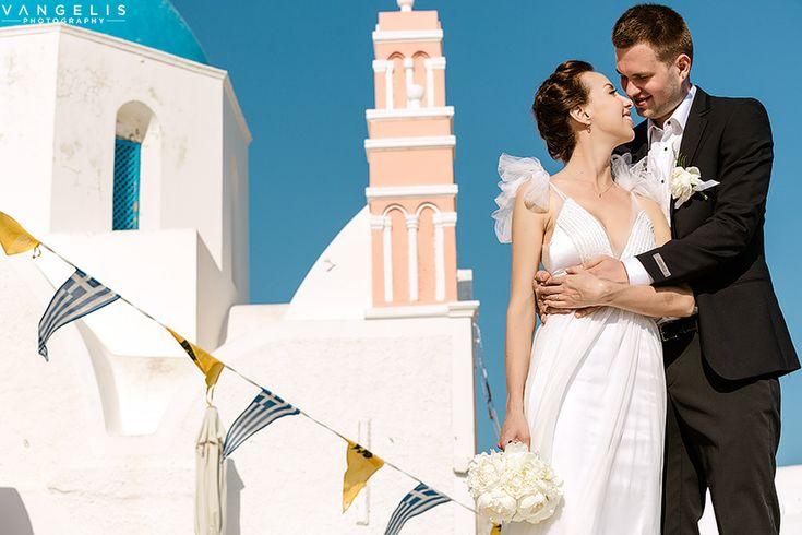 Wedding in Kirini Hotel Oia Santorini | Mariya+Dimitri