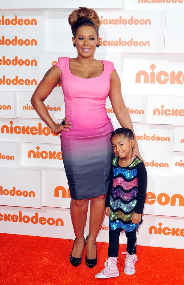 Mel B. and daughter Angel Iris Murphy | Famous Moms and ...