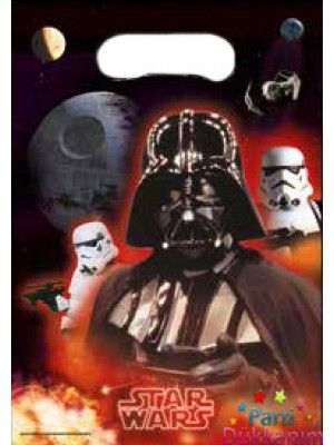 Star Wars Hediye Çanta 6 adet