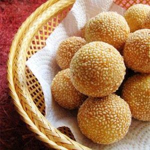 Onde-onde: Indonesian Glutinous Rice Cake Balls