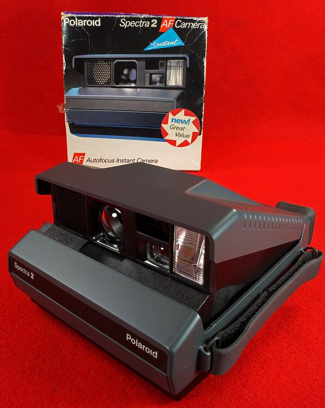 Vintage Polaroid Spectra 2 AF Auto Focus Instant Camera New in Box  To see the Price and Detailed Description you can find this item in our Category Vintage Camera, Film & Related on eBay: http://stores.ebay.com/tincanalley1/Vintage-Camera-Film-Related-/_i.html?_fsub=19469214018  RD17673