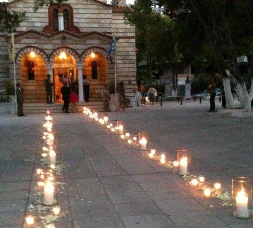 Στολισμός Εκκλησίας Εξωτερικός Χώρος - ..::Rosetta Eventi::.. | ..::Rosetta Eventi::..