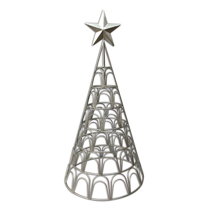 st nicholas square metal christmas tree photo clip - Metal Christmas Trees
