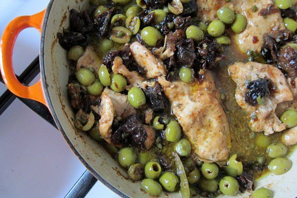 Chicken Mirabella -- hands-down, the best dish to make for a crowd (it's easy and everyone always loves it!)