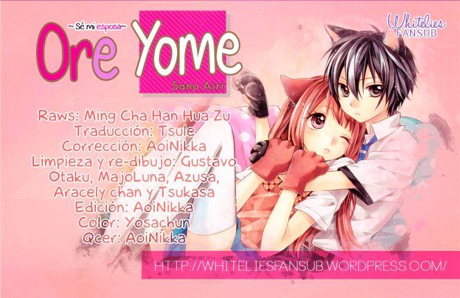 Đọc Truyện Ore Yome. - Ore No Yome Ni Nare Yo Chap 19 TV trên di động hoặc trên mobile/smartphone/iphone tại đây