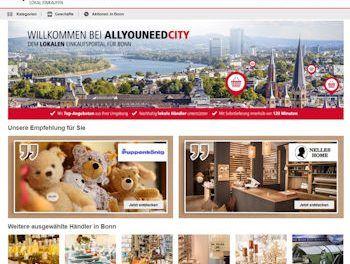 Bonner Online-Marktplatz AllyouneedCity geht online - https://www.logistik-express.com/bonner-online-marktplatz-allyouneedcity-geht-online/