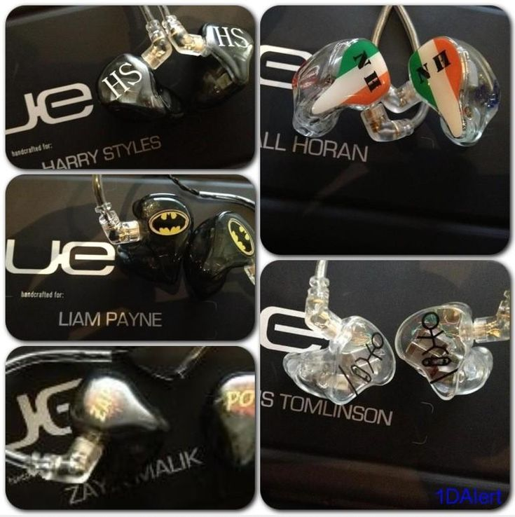 The boys personalised ear pieces for concerts. Of course Liam would get batman. And I just love louis