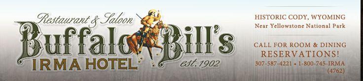 Buffalo Bill's Irma Hotel Historic Lodging Dining in Cody Wyoming