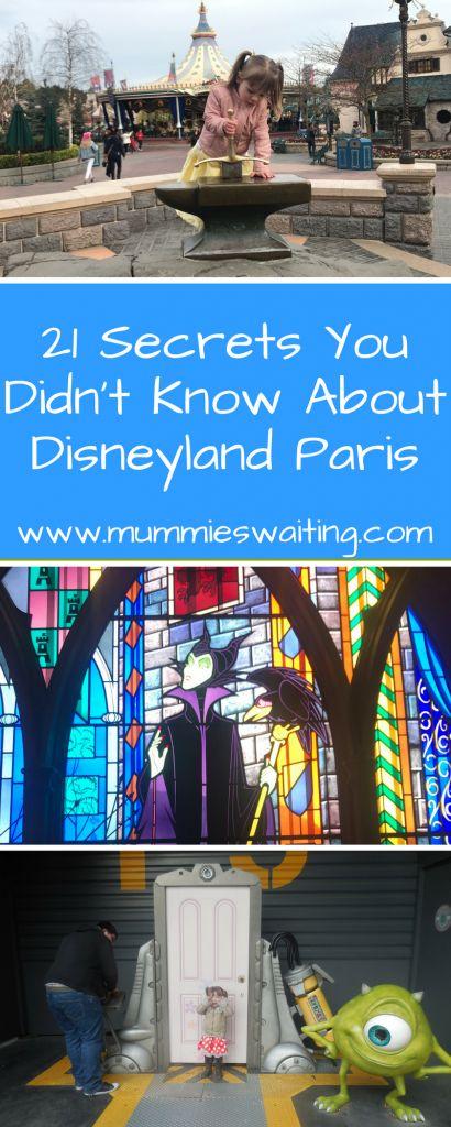 Wenn Sie nach den bestgehüteten Geheimnissen von Disneyland Paris und einem lustigen Scave suchen …