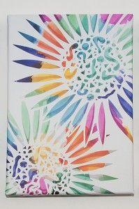 Colour Explosion Canvas