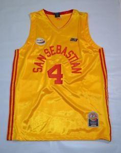 3427ebc0e92 San Sebastian College Basketball Jersey Philippines NCAA  4 Yellow Size  Large