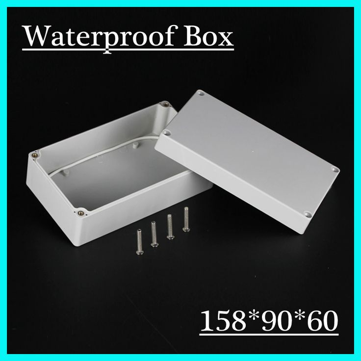 1pcs/lot 158*90*60mm Plastic Waterproof Enclosure Plastic Junction Box Waterproof Meter Box Free Shipping