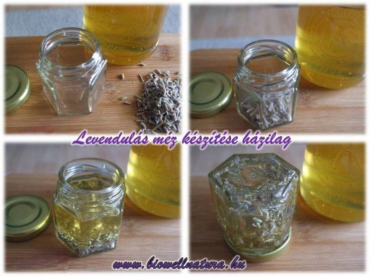 Levendulás-méz készítése házilag