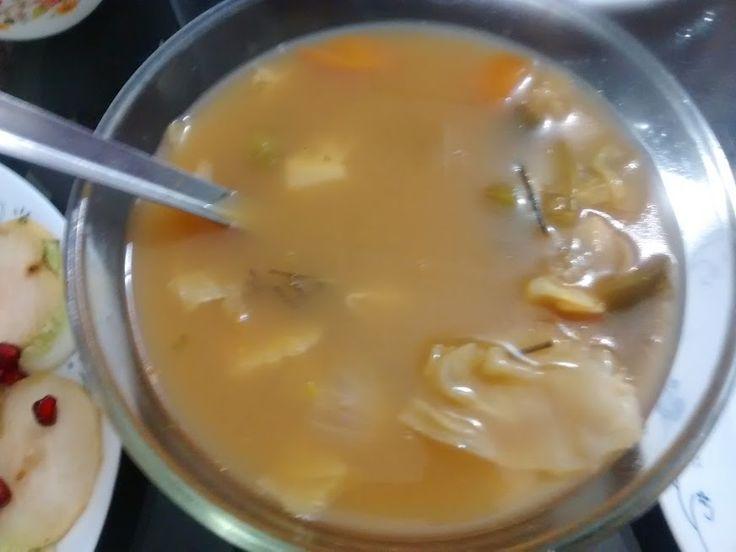 Mix Veg Dal Soup