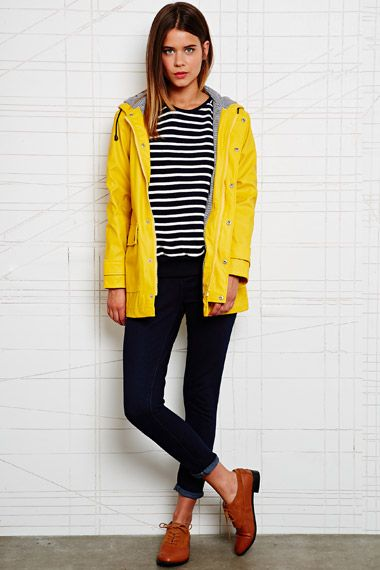 Petit Bateau Raincoat in Yellow