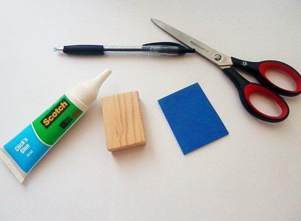Tuto : fabriquer un tampon ancre