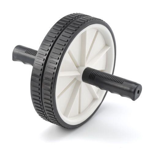 Trainingswiel / Exercise wheel RS  Description: Met het trainingswiel RS worden de buikspieren op een zeer intensieve manier aangesproken. Het zal je core op diverse manieren aangesproken. Het buigen en strekken van je core zal bij de trainingswiel RS ook de schuine en lage buikspieren aanspreken. En door de gehele strekking van het lichaam worden de lange rechte rugspieren gestimuleerd in de ontwikkeling.  Price: 7.95  Meer informatie