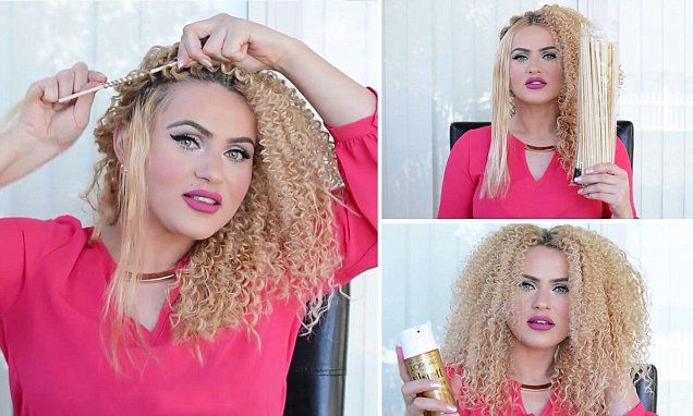 Would you use a bamboo skewers to get spiral curls like Beyonce?