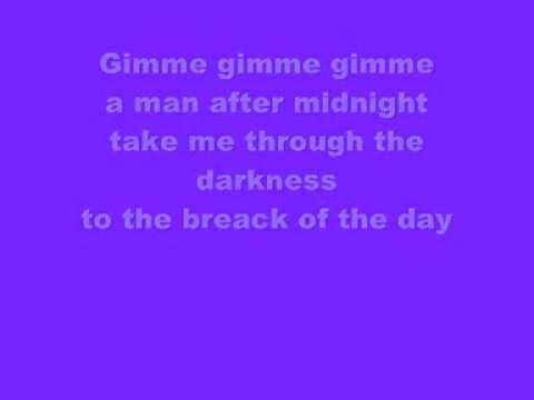 Gimme Gimme Gimme Mamma Mia lyrics YouTube - YouTube